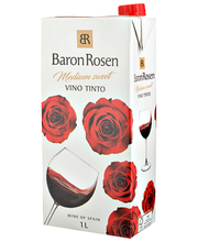 Baron Rosen Vino Tinto Medium-Sweet 1L
