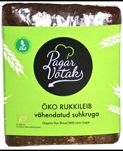 Rukkileib vähendatud suhkruga, ÖKO 400 g