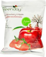 Maasika ja õuna krõpsud ,25 g
