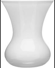 Vaas Blomma 16,5 cm, valge  klaas