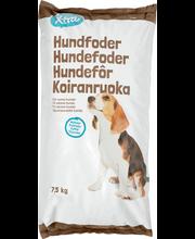 X-tra täissööt koertele lihaga, 7,5 kg