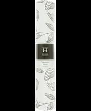 Lauamatt lehdet must/ valge 33x45 cm, 100% puuvill