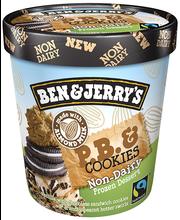 Piimavaba jäätis Peanut Butter & Cookies, 500ml