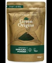 Green Origins spirulina pulber, 90 g