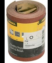 Mirka liivapaberirull, K60, 115 mm x 5 m