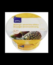Mango-ananassi kohupiimakreem, 150 g