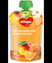 Milupa puuviljasmuuti apelsini ja mangoga 100 g, alates 6-elu...