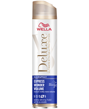 Juukselakk deluxe express wonder volume extra strong 250ml