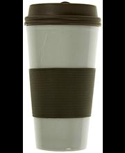 Matkakruus 360 ml, pruun
