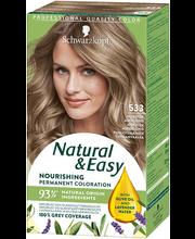 Juuksevärv Natural & Easy 533 põhjamaine tuhkblond