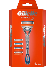 Raseerija Gillette Fusion manual + 4 tera