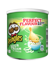 Pringles Sour Cream & Onion Hapukoore-sibulamaitselised kartu...