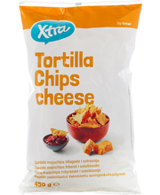 Tortilla juustumaitselised chipsid 450 g