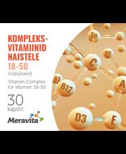 Meravita kompleksvitamiin kurkumi naistele 18-50, 30 tk