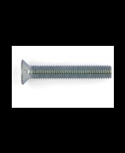 Fixmaster metallikruvi, peitpea, DIN965, ZN PZ2, M4 x 16 mm, ...