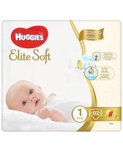 Huggies mähkmed Elite Soft 1, 3-5kg, 82 tk