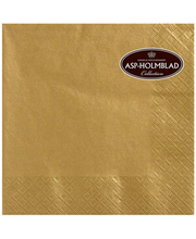 Salvrätik 33cm 20 tk, kuldne