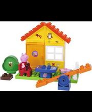 Põrsas Peppa aiamaja mängukomplekt PlayBIG Bloxx