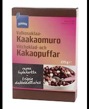 VALGE SHOKOLAADI&KAKAO 275 G TERAVILJAPALLID