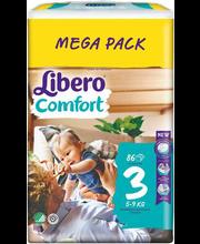 Libero Comfort 3 Teipmähe 5-9kg 86 tk.