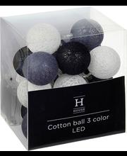 Valguskett Cotton Ball 20LED, sisetingimustes, patareid 3xAA ...