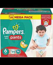 Pampers püksmähkmed Baby Dry Pants 6 Mega Pack 15+ kg, 64 tk