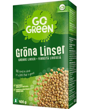 Rohelised läätsed 400 g