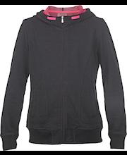 tüdrukute dressipluus 152 must/roosa