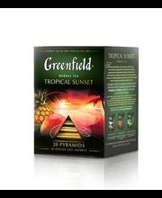 Greenfield Tropical Sunset ürditee Pür 1.8g*20pk