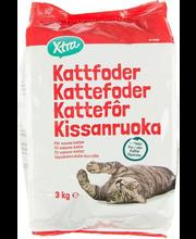 Kuivtoit kassidele lihaga 3 kg