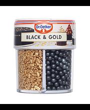 DR.Oetker Black&Gold kaunistusdražeed, 83g