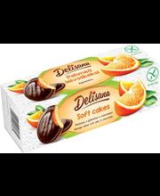 Küpsised apelsinitäidise ja šokolaadiga, 150 g