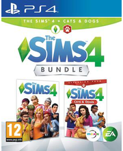 PS4 mäng The Sims 4 Cats & Dogs Bundle