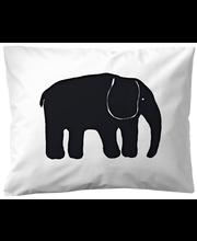 Padjapüür  Elefanti 50x60 cm must 100% puuvill