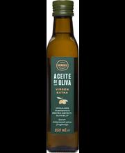 Herkku esimese külmpressi oliiviõli, 250 ml