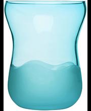 Vaas Aqua, türkiis, klaas