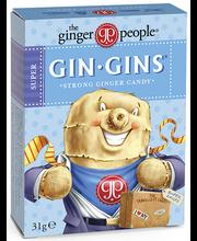 Gin Gins® Super Ingveri karamell, 31 g