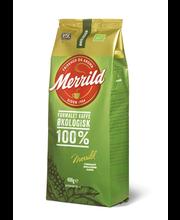 Filtri- ja presskannukohv Merrild Ecological  400 g