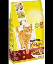 Kuivtoit kassidele veise-, kanaliha ja köögiviljaga 7,5 kg