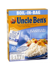 Uncle Ben's basmatiriis keedukotikestes, 4 × 125 g