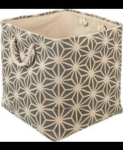 Sisustuskorv 38x38x38 cm, tekstiil