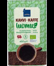 Jahvatatud orgaaniline kohv 450 g UTZ
