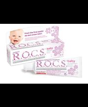 Hambapasta Baby pärnaõiega 45 g, lastele 0-3 a.