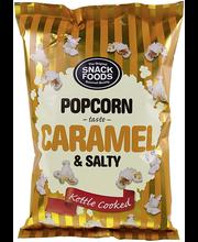 Snack Foods popkorn karamelli ja soolaga 65 g