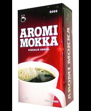 Filtri- ja presskannukohv Aromi Mokka 450 g