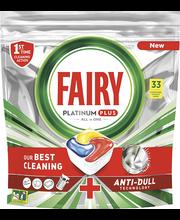 Fairy Platinum Plus nõudepesumasina tabletid 33tk