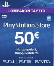 Playstation Network Live kaart 50 eur
