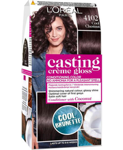 Poolpüsivärv Casting Crème Gloss 4102 Cool Chestnut