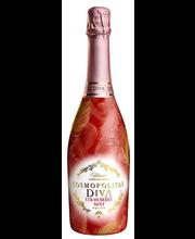Cosmopolitan Diva Strawberry Mint puuviljavahuvein 6%, 750 ml