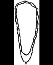 Cailap kaelakett pärlid 150cm/6mm must
